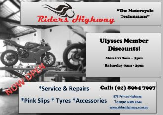 Riders Highway, Tempe