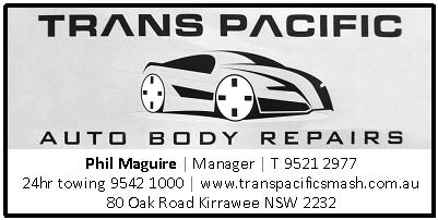 Trans Pacific Auto Body Repairs