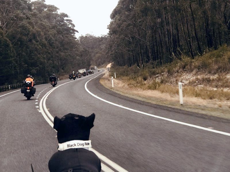 Black Dog Red Centre Ride – August 2021
