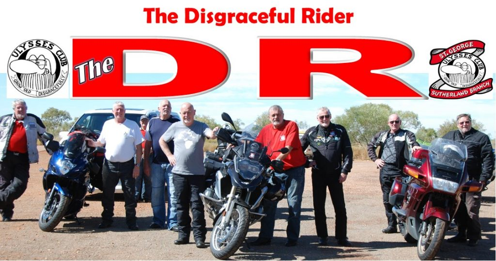 Ulysses Newsletter The Disgraceful Rider