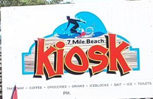 5th January 2021 – 7 Mile Beach Kiosk.